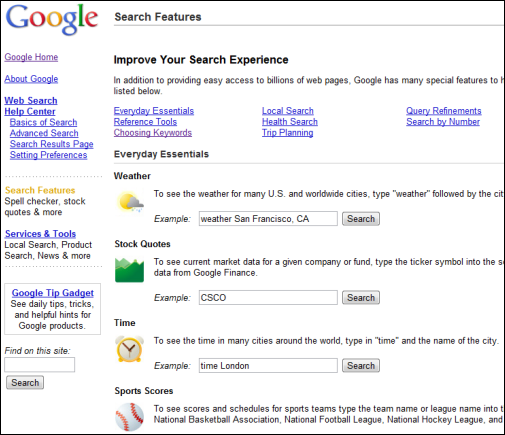 how to get rid of boxes under google search